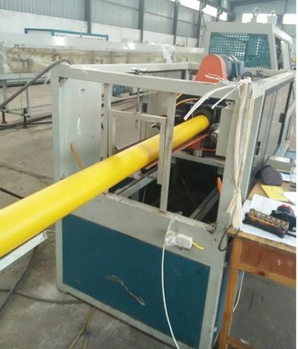 黄色管道生产线